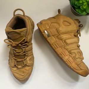 NIKE AIR More Uptempo Flax SZ 7Y